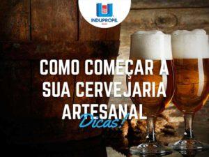 Como começar a sua cervejaria artesanal