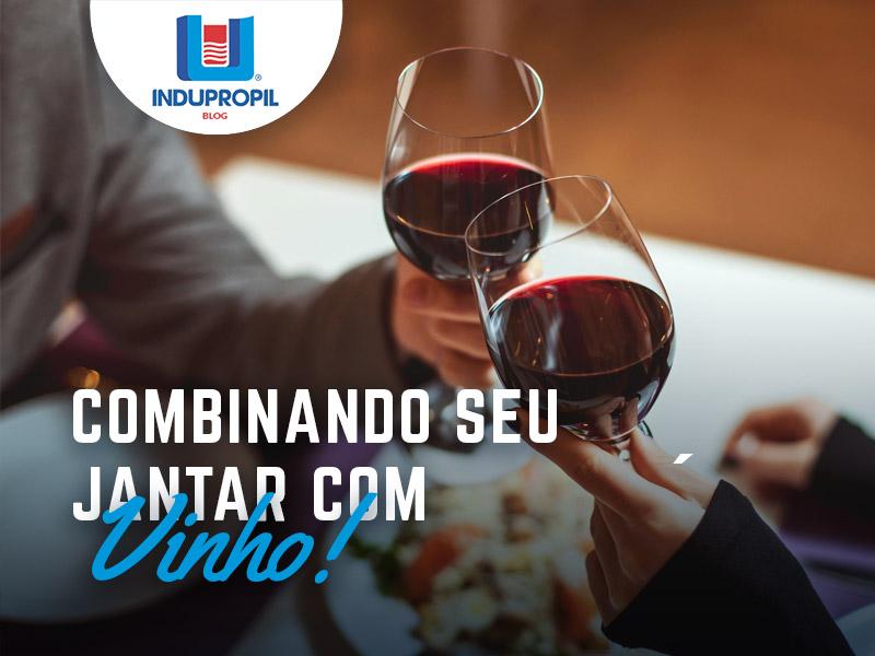 Combinando seu jantar com vinhos
