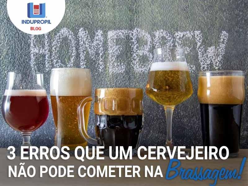 3 erros que um cervejeiro não pode cometer na brassagem!