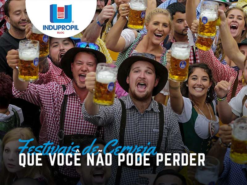 Festivais de Cerveja do país que você não pode perder!