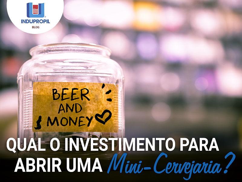Qual é o investimento para abrir uma pequena cervejaria?