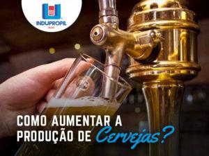 como aumentar a produção de cerveja