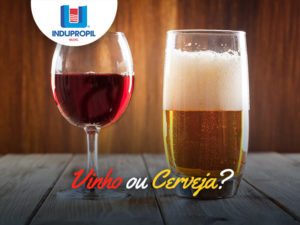 vinho ou cerveja