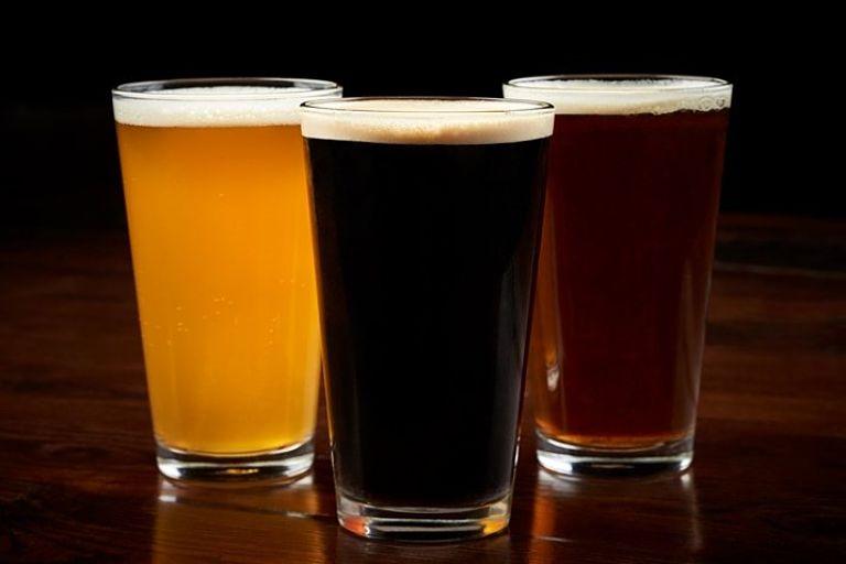 três cervejas artesanais - Indupropil