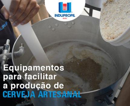 Equipamentos para facilitar a produção de cerveja artesanal