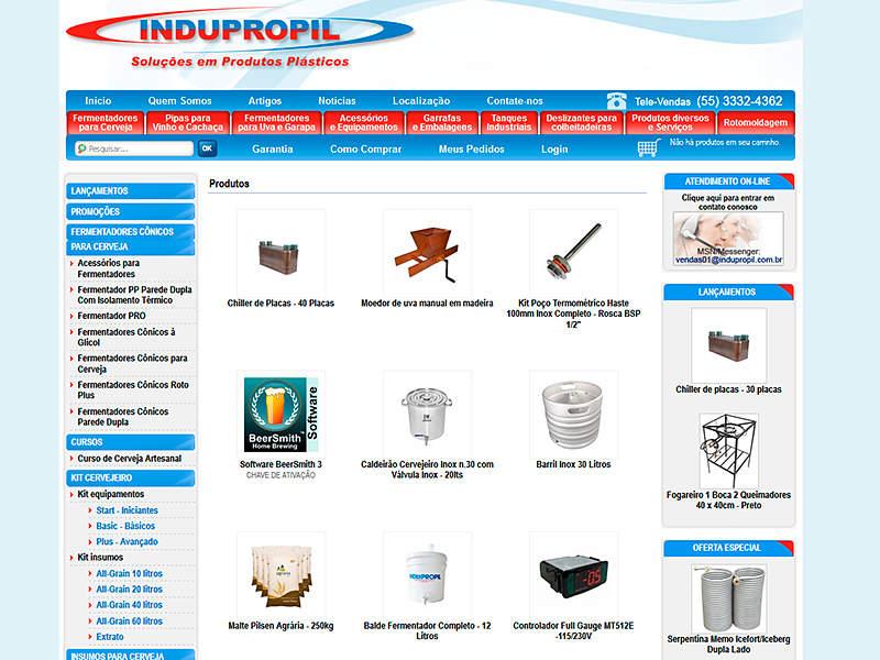 Site Indupropil 2011